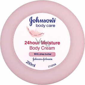 Johnsons Care 24hour Moisture Body Cream with Shea Butter 200 ml