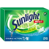 Sunlight All in 1 Lemon dishwasher tablets 26 pcs