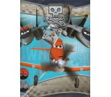 Ditipo Disney Gift Paper Bag for Kids L Planes 32.4 x 12 x 26.4 cm 2902 008