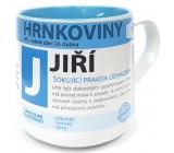 Nekupto Hrnkoviny Mug with the name Jiří 0.4 liter