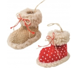 Textile shoe for hanging 5 cm 3751 4816