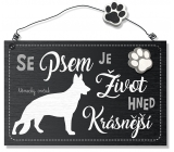 Hafani label XK 020 German shepherd