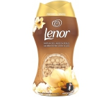 Lenor Gold Orchid scent of vanilla, mimosa, roses and peach fragrant beads for washing machine drum 140 g