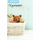 Nekupto Birthday card For the birth of a baby 115 x 170 mm 3462 F
