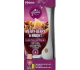Glade Merry Berry & Bright with the scent of merlot, wild berries and spices automatic air freshener 269 ml