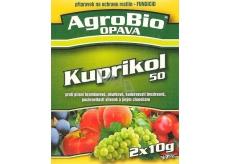 AgroBio Kuprikol 50 přípravek na ochranu rostlin proti houbovým chorobám 2 x 10 g