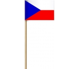 Arch Paper Flag of the Czech Republic on stick 42 cm 1 piece