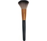 Cosmetic powder brush straight black-copper 18.5 cm 30450