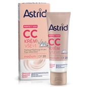 Astrid Perfect Skin CC krém vše v 1 OF 20 Medium 40 ml