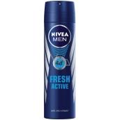 Nivea Men Fresh Active antiperspirant deodorant sprej pro muže 150 ml