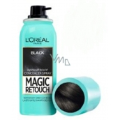 Loreal Paris Magic Retouch vlasový korektor šedin a odrostů 01 Black 75 ml
