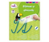 Ditipo Wiping book Let's write the alphabet 6-8 years 16 pages 215 x 275 mm
