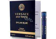 Versace Dylan Blue pour Femme parfémovaná voda pro ženy 1 ml s rozprašovačem, Vialka