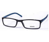 Glasses diop.plast. + 3 black blue side MC2 ER4045