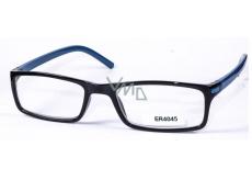 Berkeley +3 prescription reading glasses black black blue 1 piece MC2 ER4045