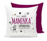 Nekupto Gift Center Pillow with dedication Best mother 30 x 30 cm