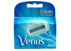 Gillette Venus Classic spare head 4 pieces, for women
