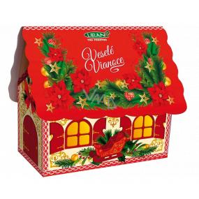 Liran Christmas package of white tea DOMEČEK red, 20 x 2 g