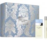 Dolce & Gabbana Light Blue eau de toilette for women 25 ml + eau de toilette 10 ml, gift set