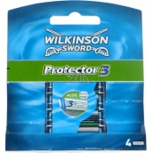 Wilkinson Protector 3 spare heads 4 pieces