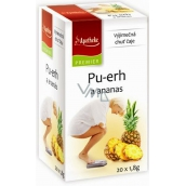 Apotheke Natur Pu-erh and pineapple tea help fight overweight 20 x 1.8 g