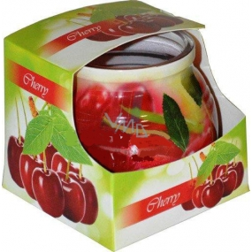 Admit Cherry - Cherry fragrant candle in glass 80 g