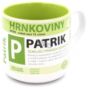 Nekupto Hrnkoviny Mug with the name Patrik 0.4 liters