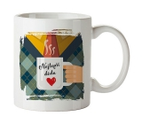 Bohemia Gifts Ceramic mug with a picture of the Best Grandpa 350 ml