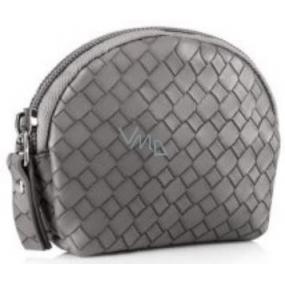 Diva & Nice Cosmetic handbag gray 10 x 9 x 3 cm
