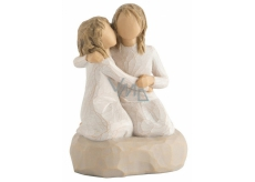 Willow Tree My sister - I feel most confident about my sister 7.5 cm x 6.5 cm
