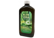 Biomedica Aloe Vera 99,55% natural juice with pieces of flesh, food supplement 500 ml