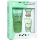 Payot Pate Grise Pate Grise Gelée Nettoyante cleansing gel 200 ml + L Original SOS care against skin imperfections 15 ml + Masque Charbon multiactive face mask 50 ml, cosmetic set set 2020
