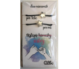 Albi Gift jewelry duo bracelets Best friends-sisters 2 pieces