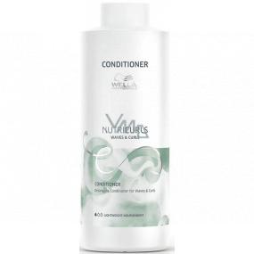 Wella Nutricurls Waves & Curls nourishing conditioner 1000 ml maxi