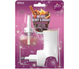 Glade Electric Scented Oil Merry Berry & Bright with the scent of merlot, berries and spices electric air freshener machine with liquid filling 20 ml