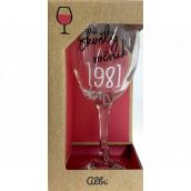 Albi Můj Bar Wine glass 1981 220 ml