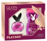 Playboy Queen of The Game eau de toilette for women 40 ml + shower gel 250 ml, gift set