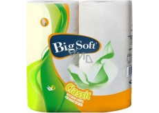 Big Soft Classic Paper Kitchen Towels 2 Layer 51 Scraps 2 Pieces