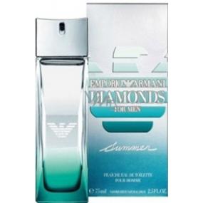 Giorgio Armani Emporio Diamonds Summer for Men Eau de Toilette 75 ml