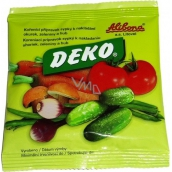 Deko spice preparation loose for picking cucumbers, vegetables and mushrooms 100 g