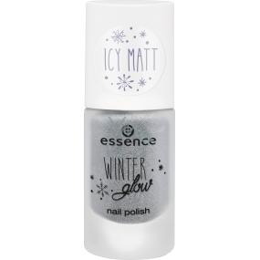 Essence Winter Glow Nail Polish nail polish 02 I See Ice 8 ml