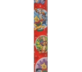Ditipo Gift wrapping paper 70 x 200 cm Christmas Disney Winnie the Pooh red