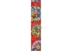 Ditipo Disney Vánoční balicí papír dětský Medvídek Pú červený 2 m x 70 cm