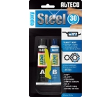 Alteco Epoxy Steel 30 min two-component epoxy adhesive with filler 56.8 g