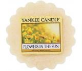 Yankee Candle Flowers in The Sun - Květiny na slunci vonný vosk do aromalampy 22 g