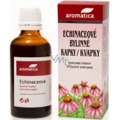 Aromatica Echinaceové bylinné kapky pro přirozenou obranyschopnost od 3 let 100 ml
