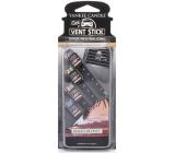 Yankee fragrant car pins 4pcs. Black Coconut 9793
