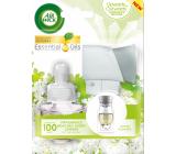 Air Wick Fresh Ivory Freesia Bloom - White freesia flowers electric air freshener set 19 ml