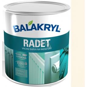 Balakryl Radet 0603 Ivory Gloss top color for radiators 0.7 kg