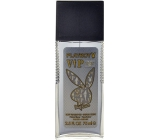 Playboy VIP Platinum Edition perfumed deodorant glass for men 75 ml Tester